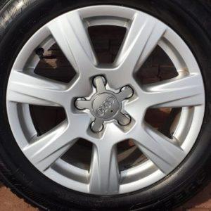 """Audi A4-A6 gyári alufelni 16"""" téligumikkal"""