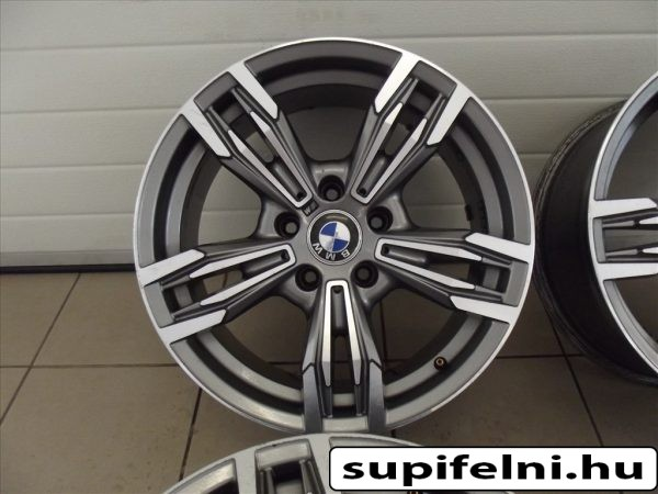 BMW M6 alufelni 8x17 ET15 e60 e61 e90 e39 re szerelheto szep allapotban igeny szerint gumiabroncs megoldhato elado.